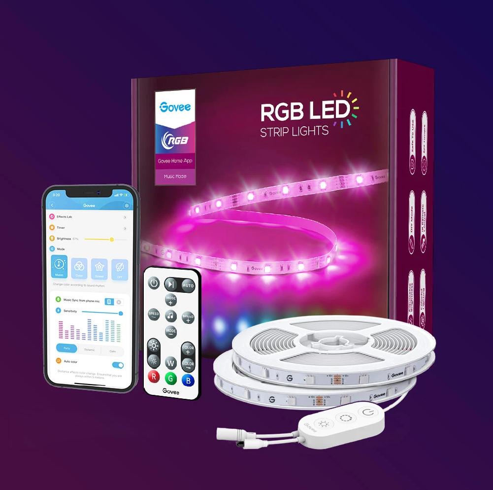 Govee WiFi Smart RGB LED Strip Lights